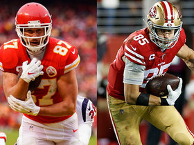Watch: Pro Football Focus: Comparing George Kittle vs. Travis Kelce