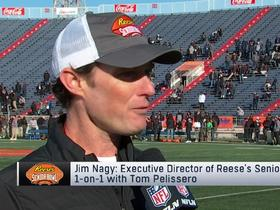 Watch: Jim Nagy highlights small-school sleepers at 2020 Reese's Senior Bowl