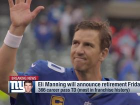 Watch: Kimberly Jones: Eli Manning's retirement 'is not unexpected'