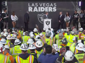 Watch: Las Vegas Raiders are officially introduced at Allegiant Stadium