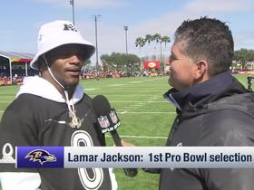 Watch: Lamar Jackson on his 2019 season: 'I didn't finish how I wanted to'