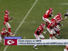 Watch: 'GMFB' analyzes Patrick Mahomes' evolution since his 2017 pre-draft appearance