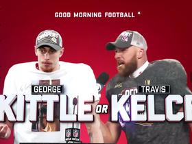 Watch: Kittle or Kelce: 'GMFB' answers Super Bowl LIV TE trivia questions