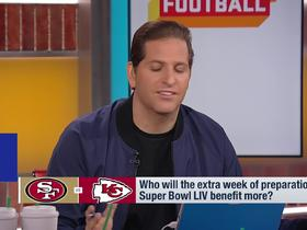 Watch: 49ers vs. Chiefs: Who will benefit from the extra week of preparation more?