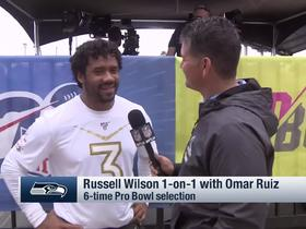 Watch: Russell Wilson says being named Pro Bowl starter 'truly a blessing'