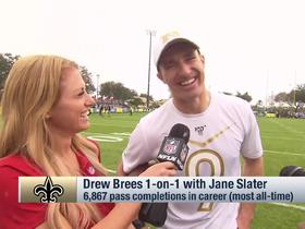 Watch: Brees on next Saints contract: 'It's not a matter of if it gets done, it's when'