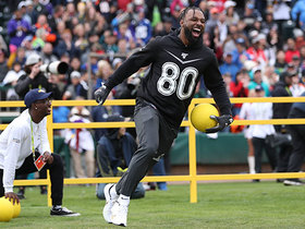 Watch: Landry's last stand in dodgeball wins Pro Bowl Skills Showdown for AFC