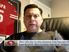 Watch: 49ers radio play-by-play announcer Greg Papa: Personality of 49ers 'is George Kittle'