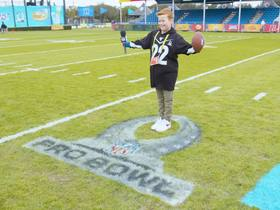 Watch: UK kid reporter at the NFL Pro Bowl