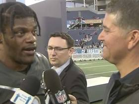 Watch: Lamar Jackson on potential MVP honor: 'It'd mean a lot'