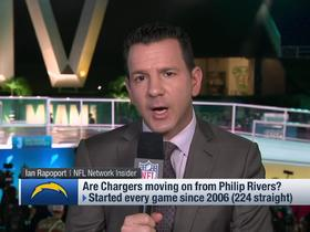 Watch: Rapoport: Philip Rivers' future with Chargers is 'up in the air'