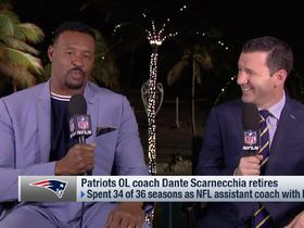 Watch: Willie McGinest reflects on Dante Scarnecchia's legacy with Patriots