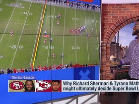 Watch: Burleson breaks down why Mathieu and Sherman could decide Super Bowl LIV winner