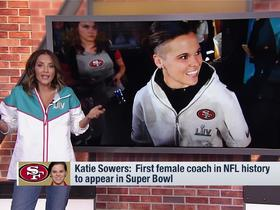 Watch: Kay Adams shares why Katie Sowers inspires her