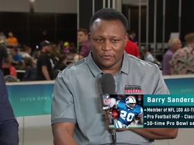 Watch: HOF RB Barry Sanders evaluates the Niners' run game