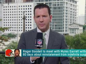 Watch: Ian Rapoport offers update on Myles Garrett's suspension