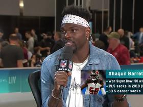 Watch: Shaquil Barrett explains factors that led to his breakout season in '19