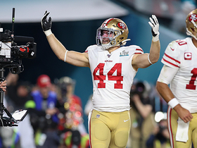 Watch: Kyle Juszczyk barrels into the end zone for Niners' first TD