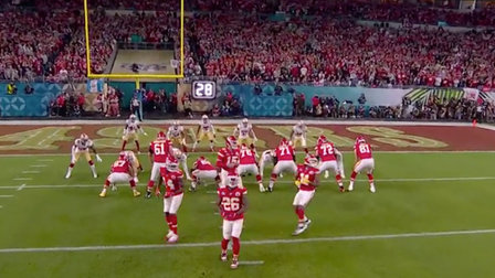 Kansas City Chiefs unveil 'spin-o-rama' formation for fourth-down conversion in Super Bowl LIV