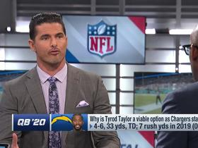 Watch: David Carr: Seems like 'a matter of time' before Tyrod Taylor is Bolts' starter