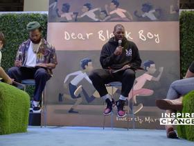 Watch: Inspire Change: Martellus Bennett stages readings for his new kids book