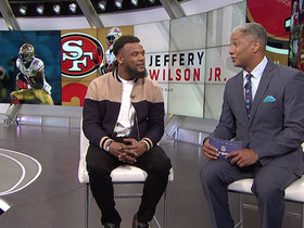 Watch: Jeff Wilson reacts to criticism of Jimmy G after SB LIV loss