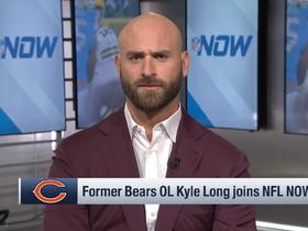 Watch: Kyle Long: Mitchell Trubisky will 'come out on fire' in 2020