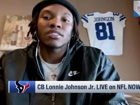Watch: Lonnie Johnson Jr. reveals how he'd grade his rookie season