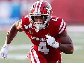 Watch: Pelissero: One RB who could challenge for fastest 40 time at '20 combine