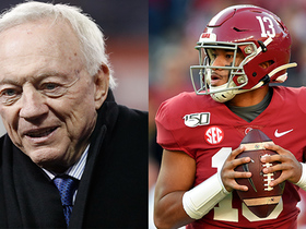 Watch: David Carr: Cowboys must think 'long and hard' about trading up for Tua Tagovailoa