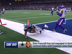 Watch: Slater: Dak Prescott's contract talks with Cowboys have been 'non-existent'