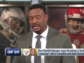 Watch: Willie McGinest: Pittsburgh's success 'all depends on' Ben Roethlisberger's health