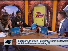 Watch: Brandt: Panthers in a 'chess match' moving forward with Cam Newton as starting QB