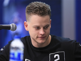 Watch: Joe Burrow's 2020 NFL Scouting Combine press conference