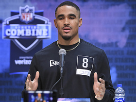 Watch: Jalen Hurts' 2020 NFL Scouting Combine press conference