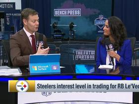 Watch: Kinkhabwala: Steelers not likely to trade for Bell