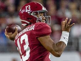 Watch: Jones: Tua is a better leader than Burrow