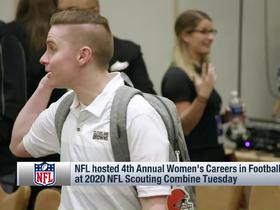 Watch: NFL hosts 4th Annual Women's Careers in Football Forum