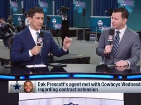 Watch: Rapoport: Cowboys will tag Dak if they can't get long-term deal done
