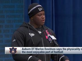 Watch: Marlon Davidson reveals his favorite thing about playing football