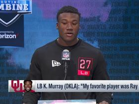 Watch: Kenneth Murray: I 'try to pattern my leadership after Ray Lewis'