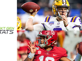 Watch: Next Gen Stats: Burrow, Tua earn 99 production scores