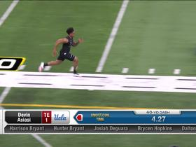 Watch: Devin Asiasi runs unofficial 4.80 second 40-yard dash at 2020 combine