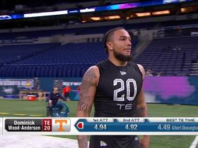 Watch: Dominick Wood-Anderson runs unofficial 4.92 second 40-yard dash at 2020 combine