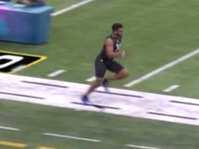 Watch: Jared Pinkney runs unofficial 4.96 second 40-yard dash at 2020 combine
