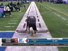 Watch: Devin Duvernay runs unofficial 4.40 second 40-yard dash at 2020 combine
