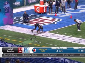 Watch: Marquez Callaway runs unofficial 4.56 second 40-yard dash at 2020 combine