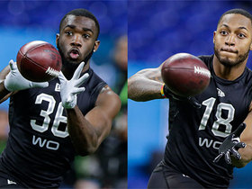 Watch: Zierlein: Two wideouts who improved draft stock during combine