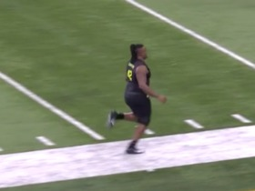 Watch: John Simpson runs official 5.24 second 40-yard dash at 2020 combine