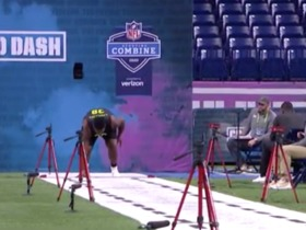 Watch: Tyre Phillips runs unofficial 5.38 second 40-yard dash at 2020 combine